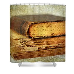 Livres Shower Curtain by Jessica Jenney