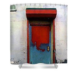 Locked Door, Hell's Kitchen Shower Curtain by RC deWinter
