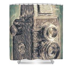 Lomo Shower Curtain by Taylan Apukovska