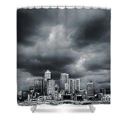 London Skyline 7 Shower Curtain by Mark Rogan