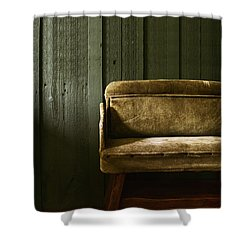 Long Wait Shower Curtain by Margie Hurwich