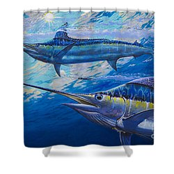 Lookers Off0019 Shower Curtain by Carey Chen