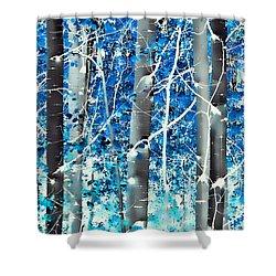 Lost In A Dream Shower Curtain by Don Schwartz
