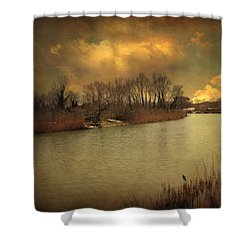 Lost In Life Shower Curtain by Taylan Soyturk