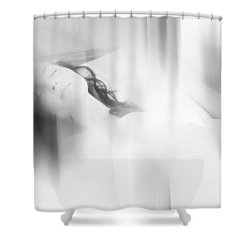 Lost In The Dreams. Boudoir Photography 7. Impressionism. Exclusively For Faa Shower Curtain by Jenny Rainbow