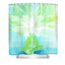 Lotus Petals Awakening Spirit Shower Curtain by Ashleigh Dyan Bayer