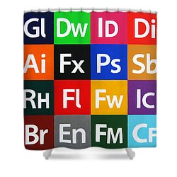 Love Adobe Shower Curtain by Oliver Johnston