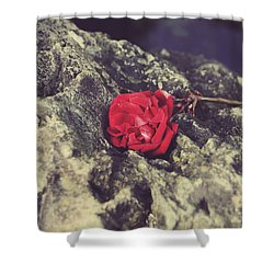 Love And Hard Times Shower Curtain by Laurie Search