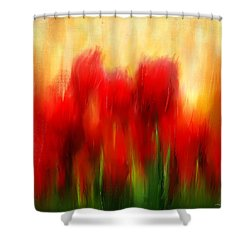 Loving Memories Shower Curtain by Lourry Legarde