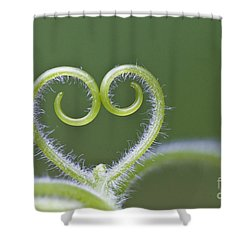 Loving Nature Shower Curtain by Maria Ismanah Schulze-Vorberg