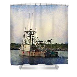 Lucky Catch Shower Curtain by A New Focus Photography