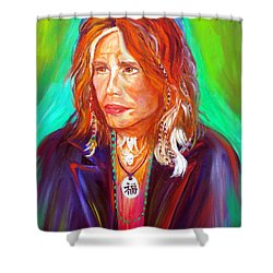 Lucky Shower Curtain by To-Tam Gerwe