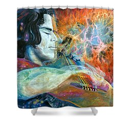 Lullabies For Nebulas Shower Curtain by Kd Neeley