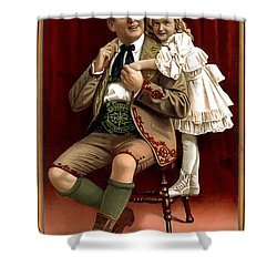 Lullaby Yodel Shower Curtain by Terry Reynoldson