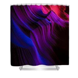 Luminary Peace Shower Curtain by Chad Dutson