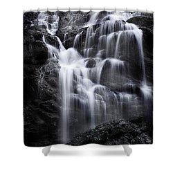 Luminous Waters Shower Curtain by Janie Johnson