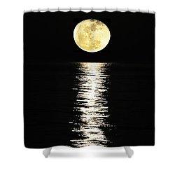Lunar Lane Shower Curtain by Al Powell Photography USA