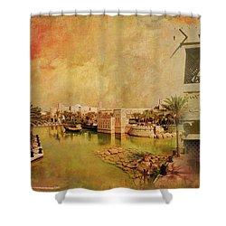 Madinat Jumeirah Shower Curtain by Catf