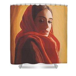 Maeror Shower Curtain by SophiaArt Gallery
