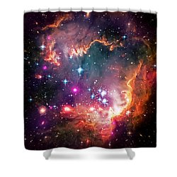 Magellanic Cloud 2 Shower Curtain by Jennifer Rondinelli Reilly - Fine Art Photography
