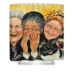 Magical Moment Shower Curtain by Shelly Wilkerson