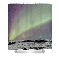 Magical Night Shower Curtain by Evelina Kremsdorf