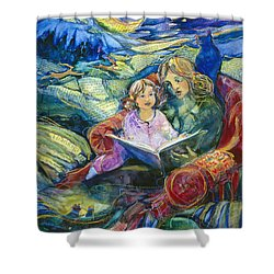 Magical Storybook Shower Curtain by Jen Norton