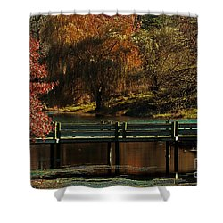 Mahoney State Park Shower Curtain by Elizabeth Winter