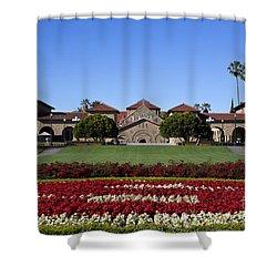 Main Quad Stanford California Shower Curtain by Jason O Watson
