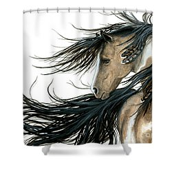 Majestic Horse Series 89 Shower Curtain by AmyLyn Bihrle