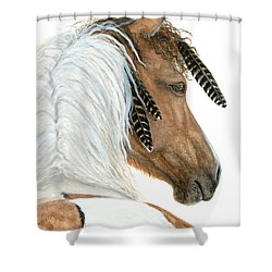 Majestic Horse Series 94 Shower Curtain by AmyLyn Bihrle