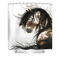 Majestic Mustang 46 Shower Curtain by AmyLyn Bihrle