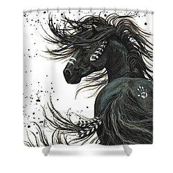 Majestic Spirit Horse 65 Shower Curtain by AmyLyn Bihrle