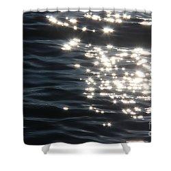Make A Wish Shower Curtain by Jolanta Anna Karolska