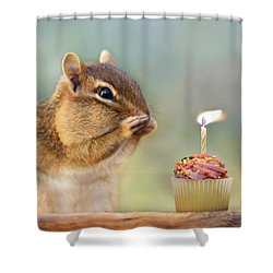 Make A Wish Shower Curtain by Lori Deiter