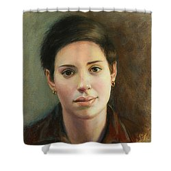 Malena Shower Curtain by Sarah Parks
