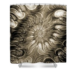 Malignant 2 Shower Curtain by Kevin Trow