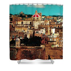 Malta Shower Curtain by Christo Christov