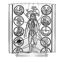Man Of Sorrow, 1512 Shower Curtain by Granger