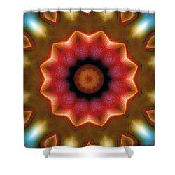 Mandala 103 Shower Curtain by Terry Reynoldson