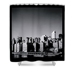 Manhattan Shower Curtain by Shaun Higson