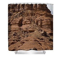 Marble Canyon Vi Shower Curtain by Dave Gordon