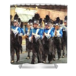 Marching Band Shower Curtain by Susan Savad