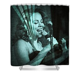 Mariah Carey - Beautiful Alchemy Shower Curtain by Absinthe Art By Michelle LeAnn Scott