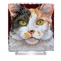 Marigold Shower Curtain by Ditz