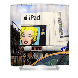 Marilyn At 85 Shower Curtain by Ed Weidman