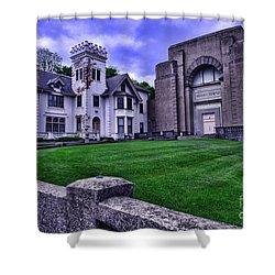Masonic Lodge Shower Curtain by Paul Ward