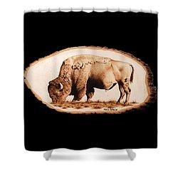 Massive Shower Curtain by Minisa Robinson