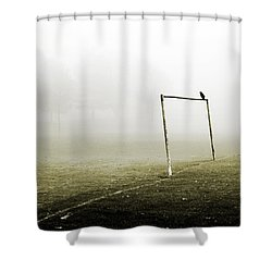 Match Abandoned Shower Curtain by Mark Rogan