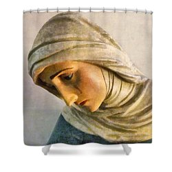 Mater Dolorosa Shower Curtain by RC DeWinter